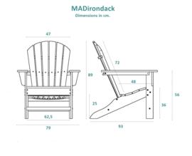 MAdirondack - White (02280)