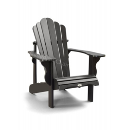 LeisureLine Adirondack chair- Black