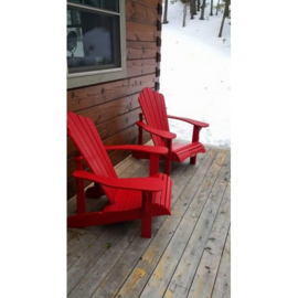 LeisureLine Muskoka Stuhl - Red