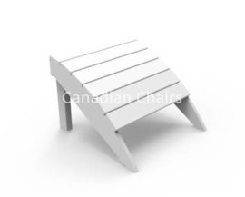Seaside Casual Footrest White (02028)