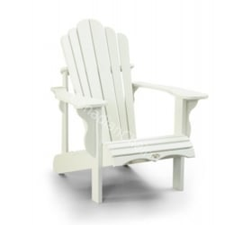 LeisureLine Adirondack chair - White