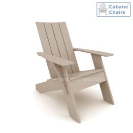 Modern Cabane chair  Driftwood