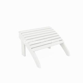 Loggerhead footrest white