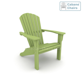 Classic Cabane chair Lime green
