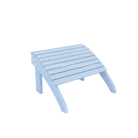 Loggerhead footrest powder blue