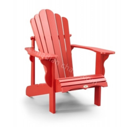LeisureLine Adirondack chair - Red