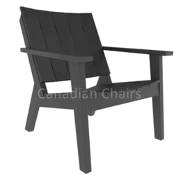 MAD fusion chat chair - Charcoal (07289)