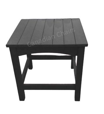 Cabane side table black