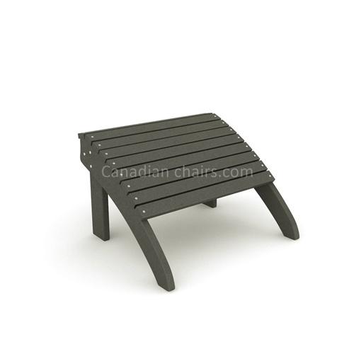 Loggerhead footrest charcoal