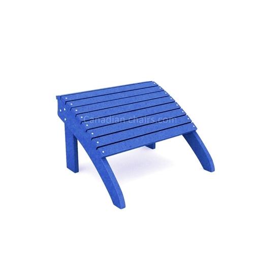 Classic Cabane footrest blue