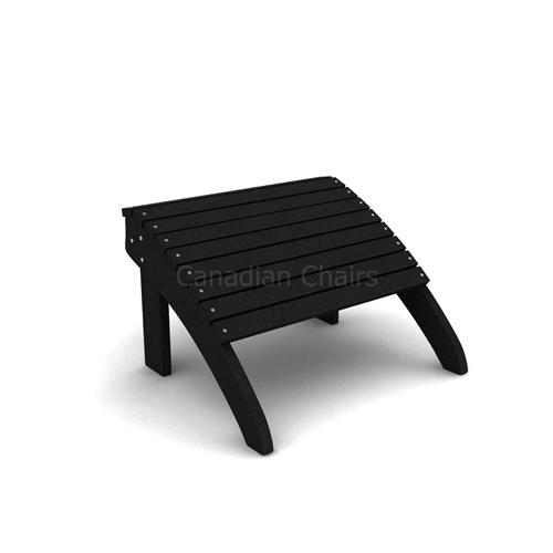 Classic  Cabane footrest black