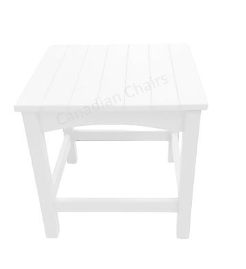 Cabane side table white