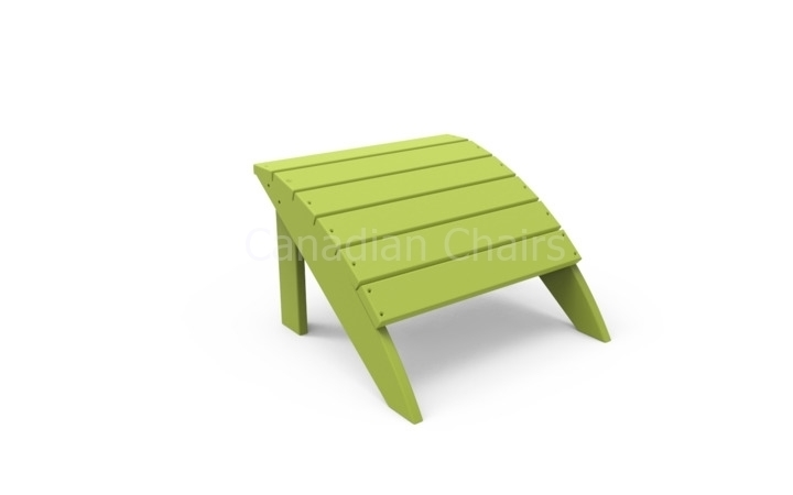 Harborview footstool  - Leaf (21341)