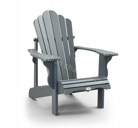LeisureLine Adirondack chair- Grey