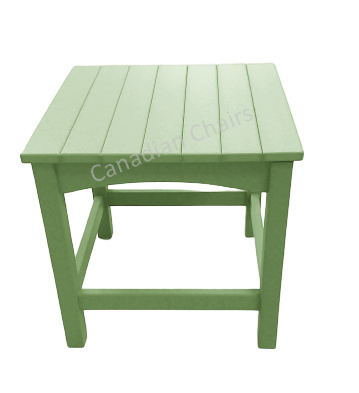 Cabane side table Lime green