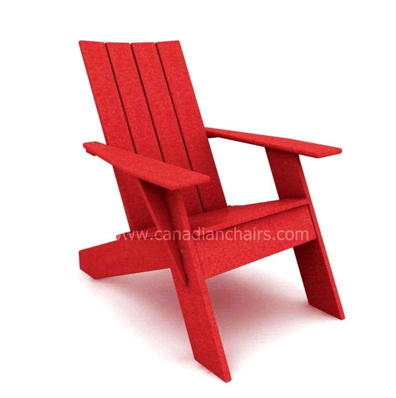 Modern Adirondack Cherry red