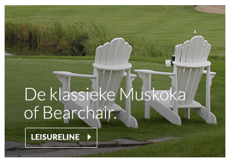 Bearchair of Muskoka van gerecycled kunststof