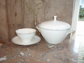 Retro servies