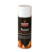 Hittebestendige lak spuitbus kleur: mat zwart