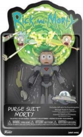 Rick and Morty - Purge Suit Morty Action Figure (New)