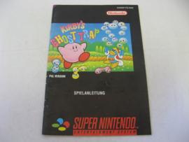 Kirby's Ghost Trap *Manual* (NOE)