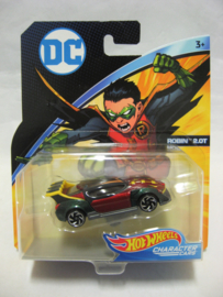 Hot Wheels Character Cars - DC Comics - Robin 2.0T (New)