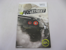 Need For Speed Pro Street *Manual* (HOL)