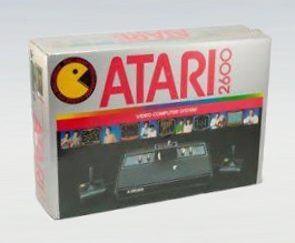 1x Snug Fit Atari 2600 Black Console Box Protector