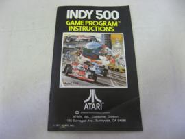 Indy 500 *Manual*