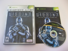 Chronicles of Riddick - Escape from Butcher Bay - Platinum Hits (NTSC)