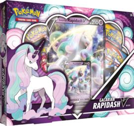 Pokémon TCG: Galarian Rapidash V Box (New)