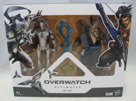 """Overwatch Ultimates Series - Genji / Hanzo 6"""" Action Figure Double Pack (New)"""