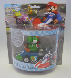 Mario Kart Wii - Pull-Back Racers - Yoshi (New)