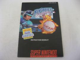 Ken Griffey Jr's Winning Run *Manual* (USA)