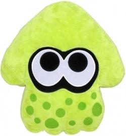 Splatoon Plush Pillow - Inkling Squid Green (New)