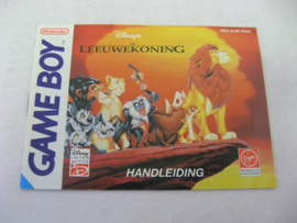 Disney's Leeuwekoning / Lion King *Manual* (NHOL)
