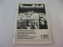 Time Pilot *Manual* (CV)