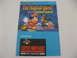 Magical Quest Starring Mickey Mouse *Manual* (NOE/SFRG)