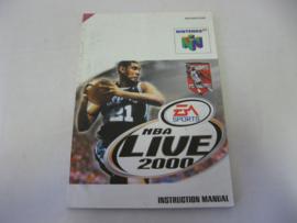 NBA Live 2000 *Manual* (EUR)