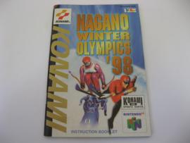Nagano Winter Olympics '98 *Manual* (EUR)