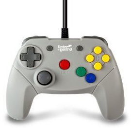 Wired Nintendo 64 Controller - Under Control (New)