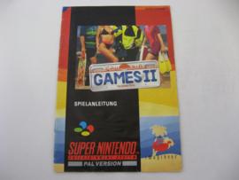 California Games II *Manual* (NOE)