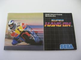 Super Hang-On *Manual*