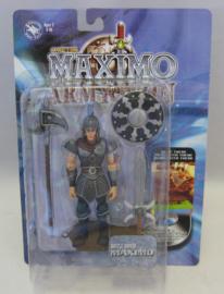"Maximo: Army of Zin - 5"" Battle Armor Maximo Action Figure - Capcom 2003 (New)"