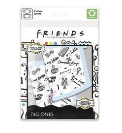 Friends: Phrases Face Mask (New)