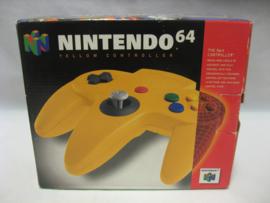 Original N64 Controller 'Yellow' (Boxed)
