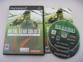 Metal Gear Solid 3 Subsistance (USA)