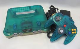 Nintendo 64 Console 'Clear Blue' Set