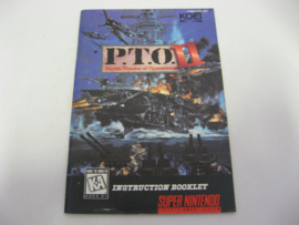 P.T.O. Pacific Theater of Operations II *Manual* (USA)
