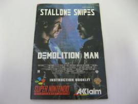 Demolition Man *Manual* (EUR)